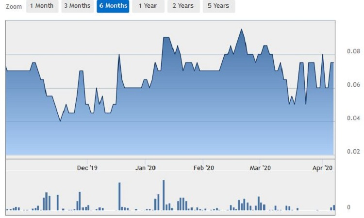 TFP share price during MCO