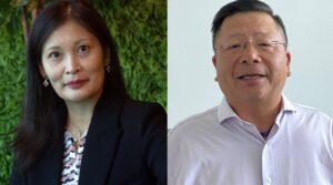 TM ONE Executive VP Shazurawati Abd Karim (left) and SAP Malaysia MD Hong Kok Cheong